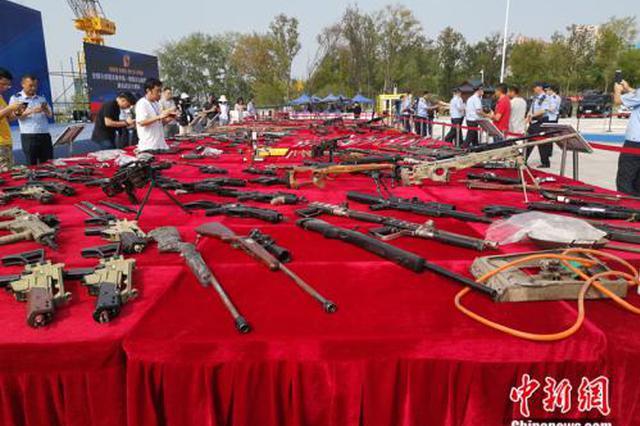 公安部公布打击枪爆犯罪十大典型案例 江西一起