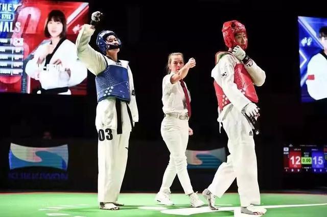 世界跆拳道大奖赛第三站 宜丰女孩为中国队赢得开