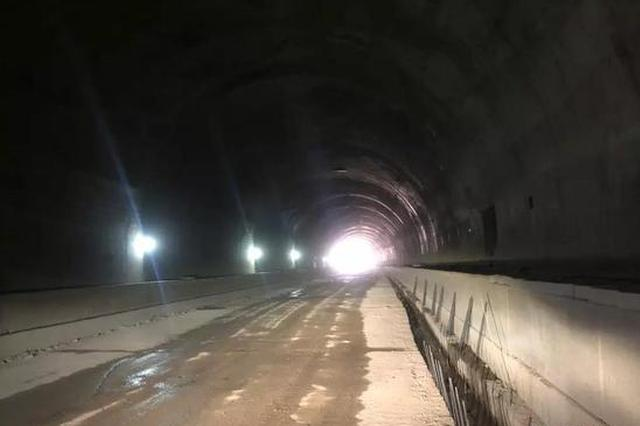 新余最长公路隧道全线贯通!环城路预计年底基本完工