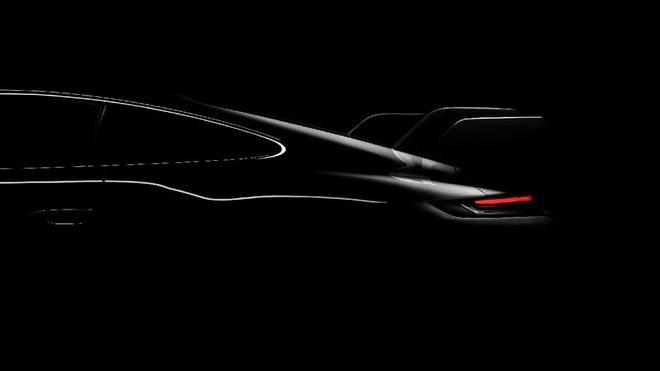 保时捷发布下一代911 GT3渲染图 巨大尾翼得以曝光