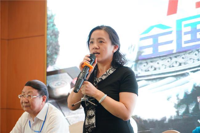 中国象棋协会文化交流委员会主任马天越宣布闭幕