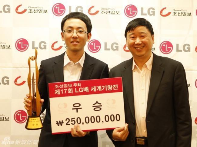 LG杯冠军时越