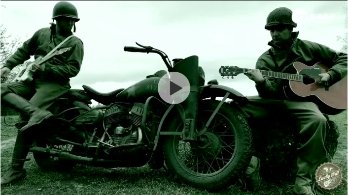 V型双缸发动机与吉他演绎《荒野大镖客》