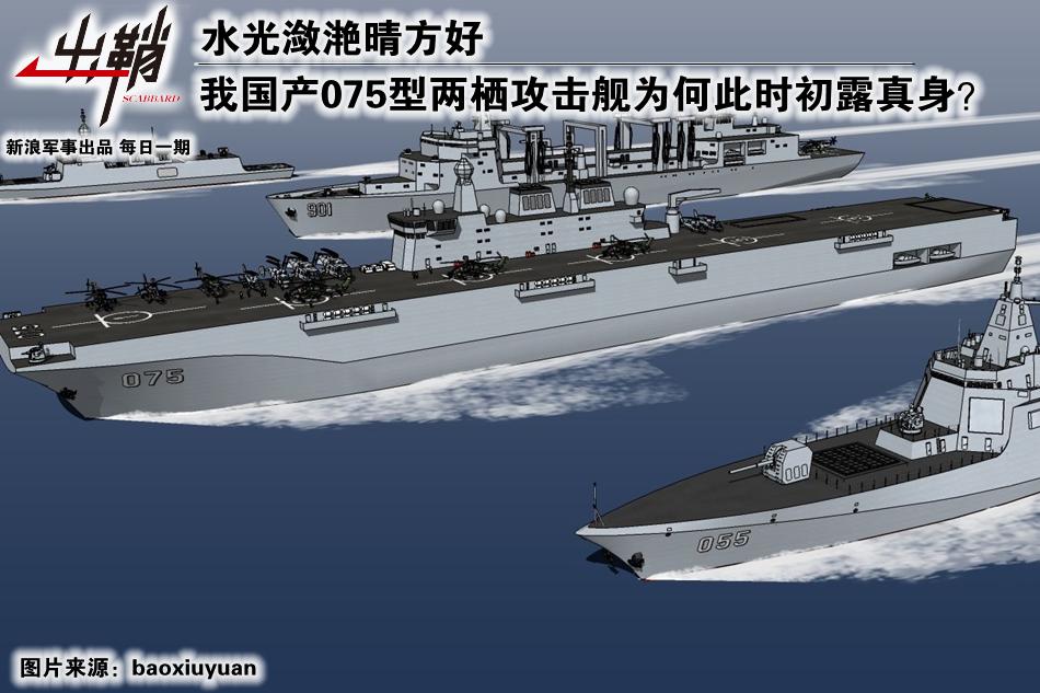 075型两栖攻击舰为何此时现身?