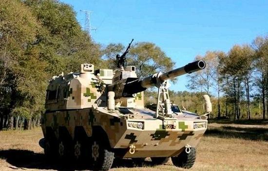 国产SH11型155毫米轮式自走添榴炮自己就是与客户交流的产物