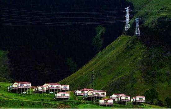 (图为川藏联网工程 图源:中国能源报)