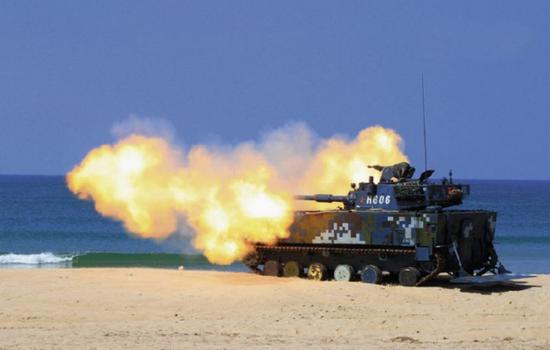 [05式/VN-16是世界上最先进的水陆坦克]
