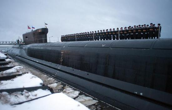 最新入列的北风之神级核潜艇