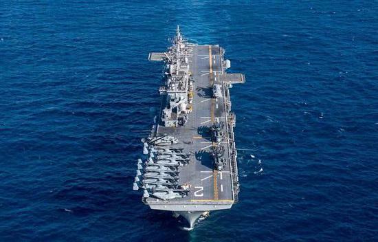 中国海军与美军还有哪些差距 急需发展这3种大型军舰