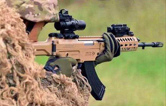 国产新一代步枪配备先进光学瞄准镜大势所趋