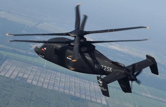 美试飞全球最快隐身武直 比黑鹰直升机快2倍(图)