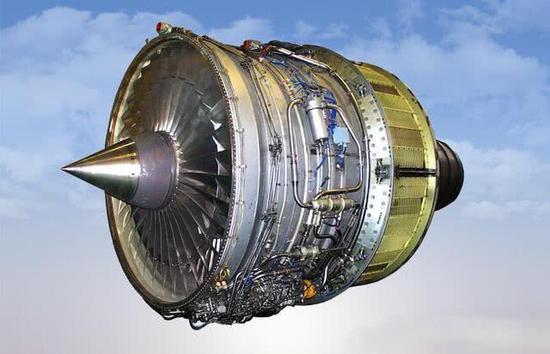 图为航空发动机