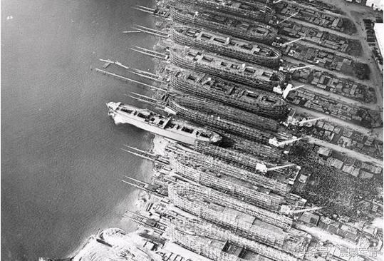 美国的解放轮创造了海运史上的稀奇