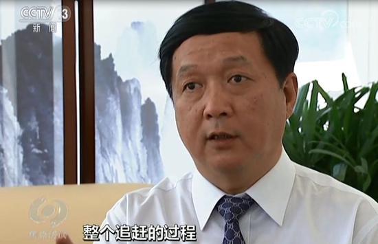 杨伟 本文均为焦点访谈截图