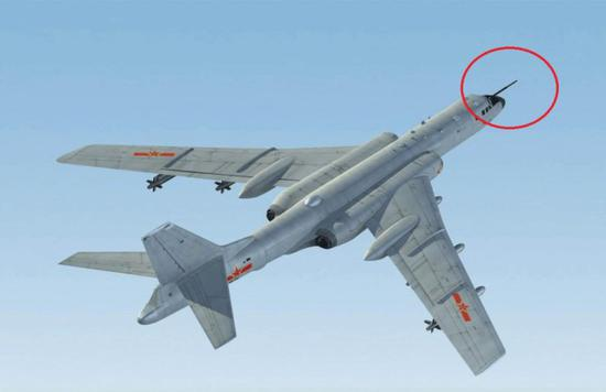 中国新隐身轰炸机_我军轰6K轰炸机装备数量将超100架 20年内不会过时|中国|轰炸机 ...