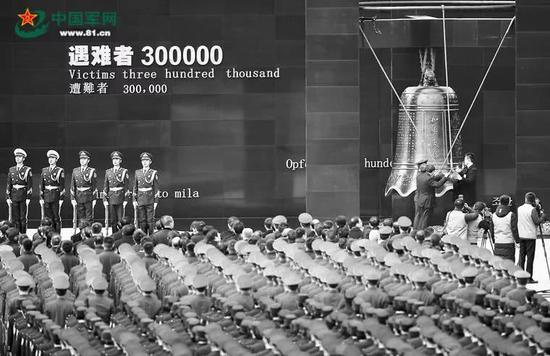 2017年12月13日,南京大搏斗物化难者国家公祭仪式现场。新华社记者 李响摄