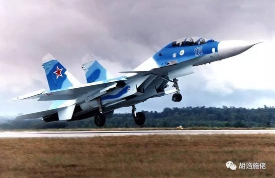 """▲ 一路先施佬还想到了""""蓝色01""""号苏-30MKI"""