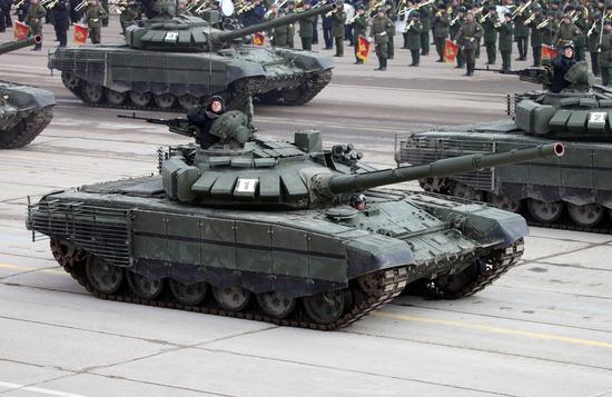 俄罗斯T-72B3M
