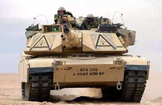 当代美国M1坦克
