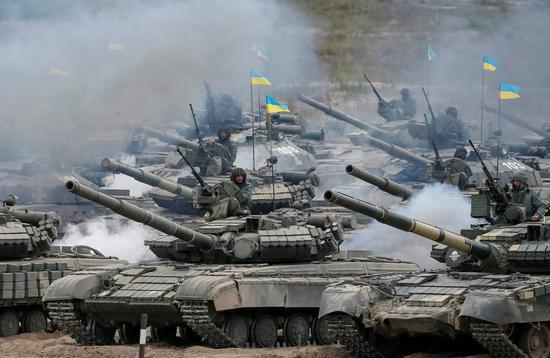 俄媒:乌克兰将在克里米亚边界附近进行导弹演习