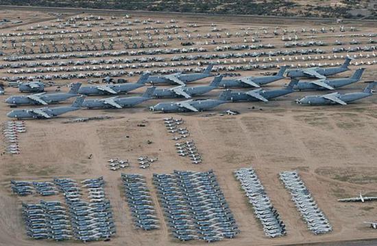 美国很多外售产品都来自飞机坟场的二手飞机