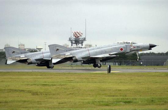 ▲日本航空自卫队的F-4EJ