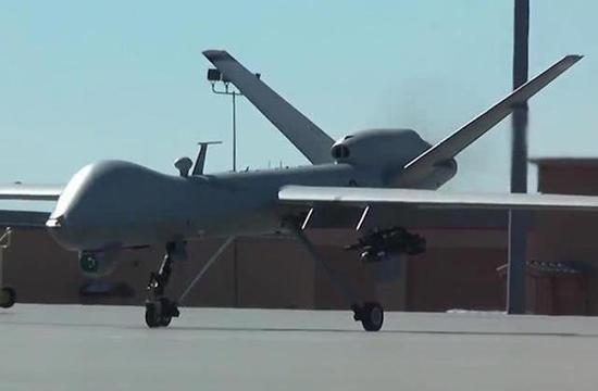 MQ-9收割者察打一体无人机