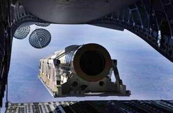 """美国用C-17空投发射""""弹道导弹靶弹"""",有关技术可以快速转化为实弹。"""