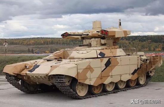 俄罗斯的BMPT坦克支援车