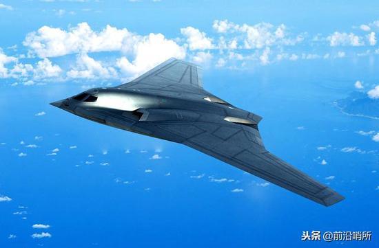 新式长途战略轰炸机造就图