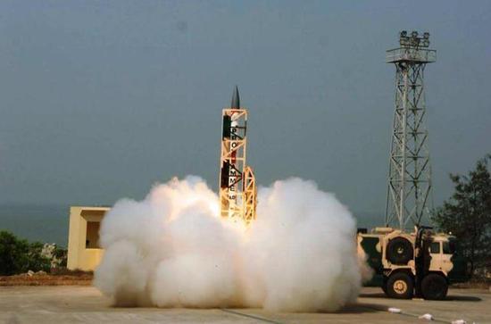 印度首次夜间反导试验获得成功 拦截单却存先天缺陷
