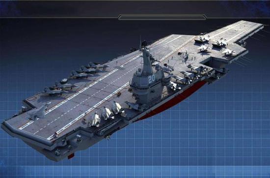 (中国海军的第5、6艘航母,能够相通于尼米兹乃至福特级)