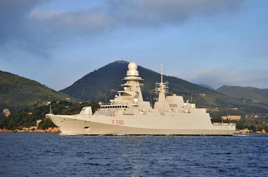 图片:意版FREMM型护卫舰