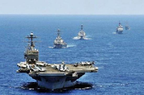 美国海军已经宣布林肯号航母战斗群转移到中东
