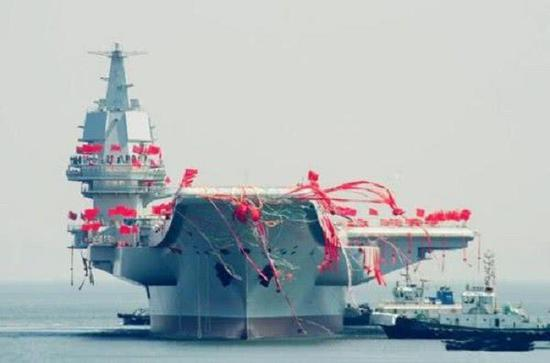 海军正在组建第二支航母编队