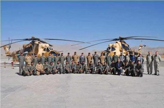 巴基斯坦采购的米35武装直升机