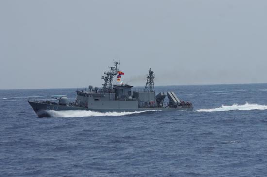 资料图:锦江级巡逻舰 图源:台湾海军