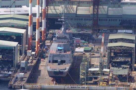 日本造船工业实力超群,因此其舰艇更新专门快