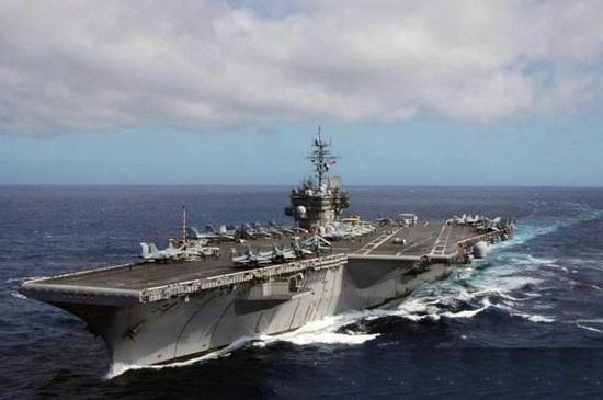幼鹰级通例航母CV-67肯尼迪号
