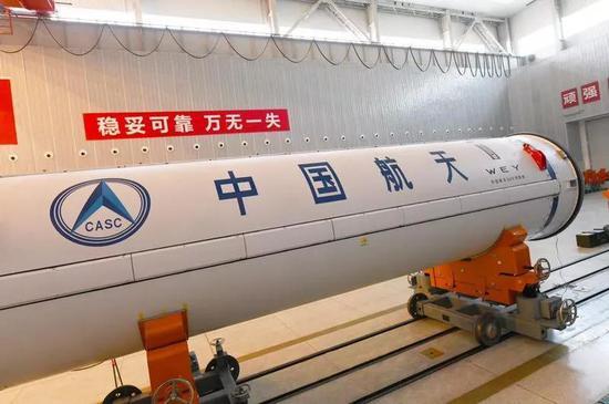 CZ-11 WEY号火箭涂装