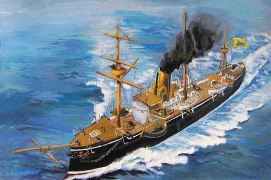 南洋舰队开济号