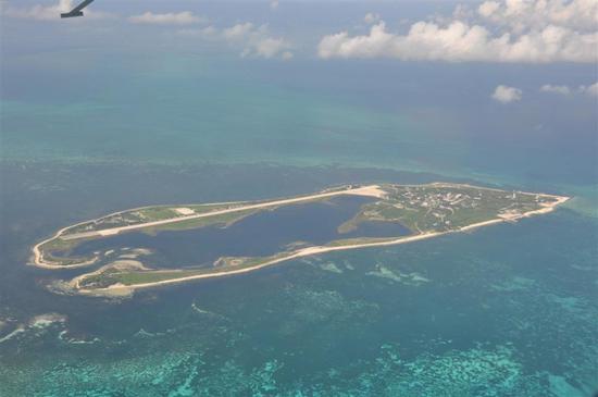"""台湾炒作""""大陆无人机绕飞东沙岛"""" 是想给美国看?"""