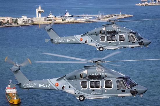 香港政府购买欧洲最新直升机 为何与我直15外形相同
