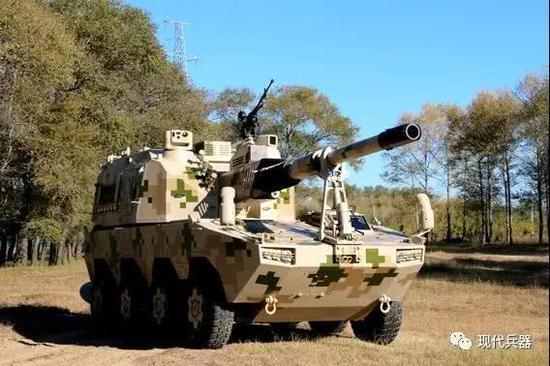优德新战车装155毫米炮 配穿甲弹可击毁所有坦克