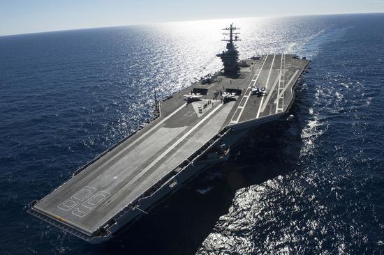 """""""尼米兹""""号将是美军下一艘退役的航空母舰,被新的福特级""""肯尼迪""""号取代"""