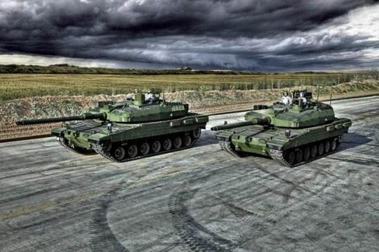 坦克是2018年军火贸易的重点