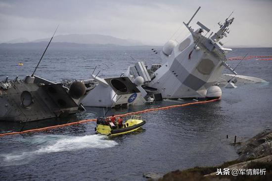 英斯塔号护卫舰正在批准拯救