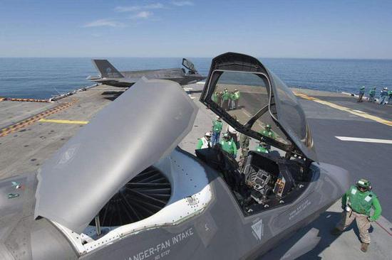 图片:F-35B对幼平顶的意义很大