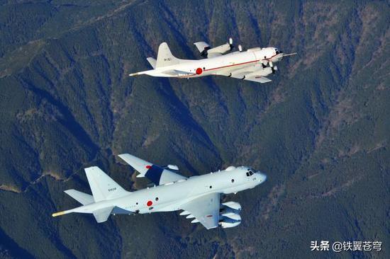 日本P-3C在不断减少,P-1在不断增加