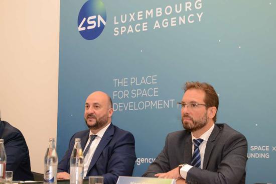 卢森堡政府宣布成立卢森堡航天局 图自卢森堡政府官网